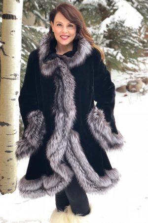 20180207 beaver fox black sheared beaver silver fox trim swing 1 1000x1176 1