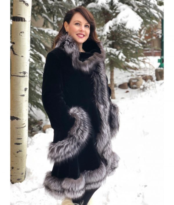 20180207 beaver fox black sheared beaver silver fox trim swing 2 1000x1176 1
