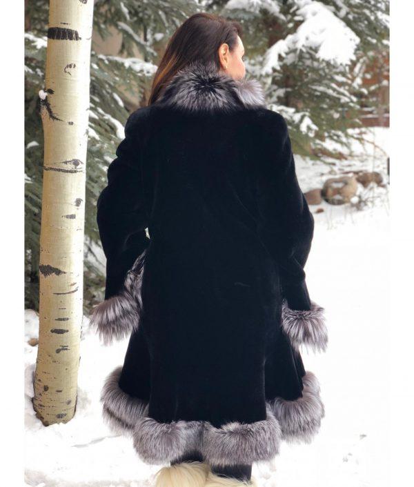 20180207 beaver fox black sheared beaver silver fox trim swing 3 1000x1176 1