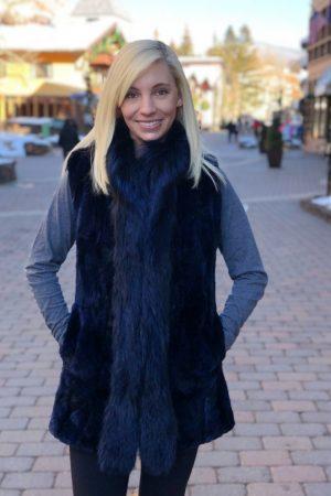 20190129 beaver fox blue black sheared beaver fox vest 1 1000x1176 1