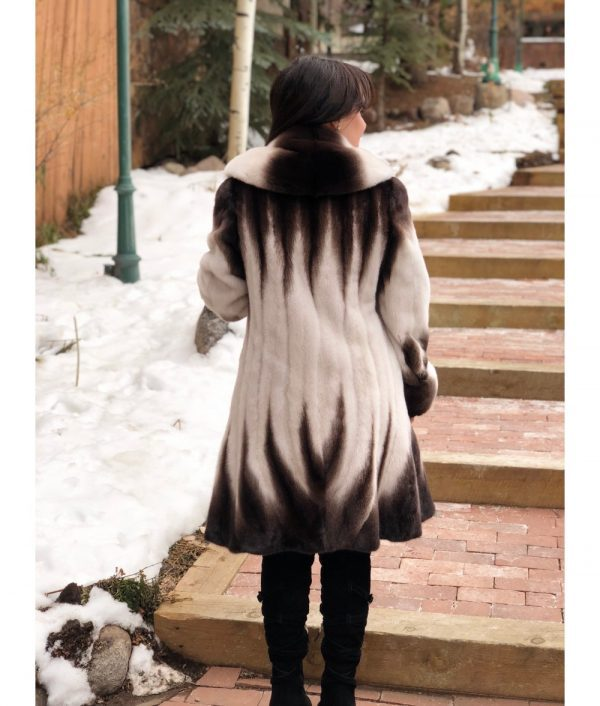 mink brown white fitted mink jacket 2 1000x1176 1