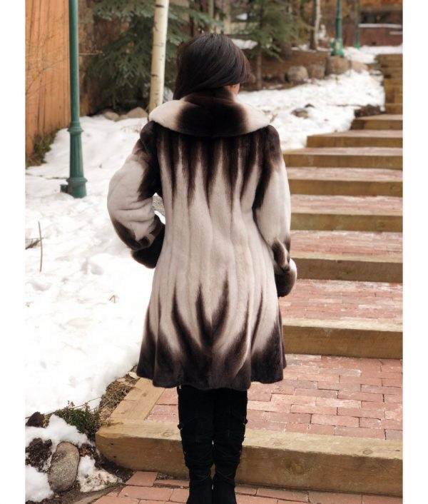 mink brown white fitted mink jacket 3 1000x1176 1