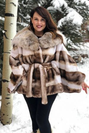 mink lynx sheared mink Canadian lynx hood cape 1 1000x1176 1